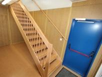 Escada interior