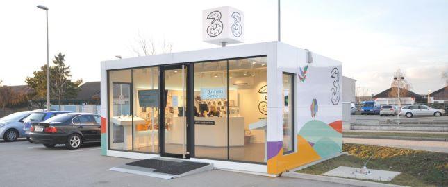 Sala de exposição e de vendas