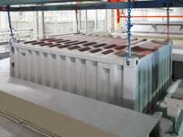 Primeira demão eletrostática em tanques de imersão