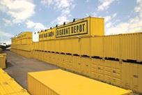 Contentores-armazém e contentores para materiais