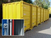 Mover-box com faixa de proteção contra incêndio