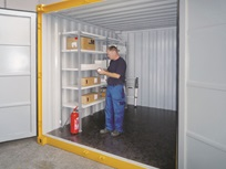 Sistema de estantes