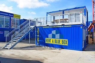 Contentor-terraço - RENT A BLUE BOX