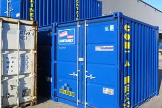 Contentores-armazém - RENT A BLUE BOX