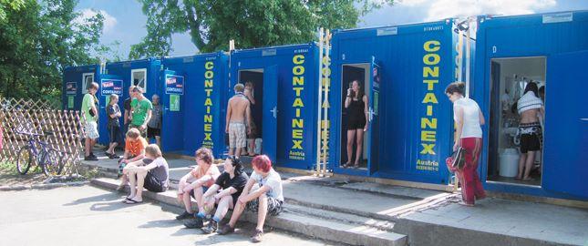 Contentores de aluguer - Contentores-sanitários