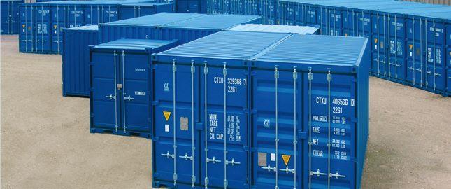 Contentores-marítimos, RAL 5010 Azul porto HC