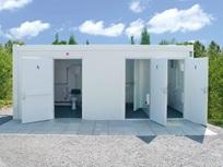 Contentor-WC adaptado a deficientes (Senhoras/Homens)