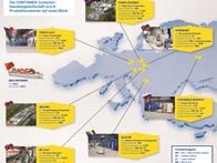 Fábricas de produção CONTAINEX