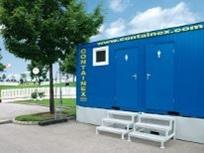 Contentores sanitários com reservatório de matéria fecal