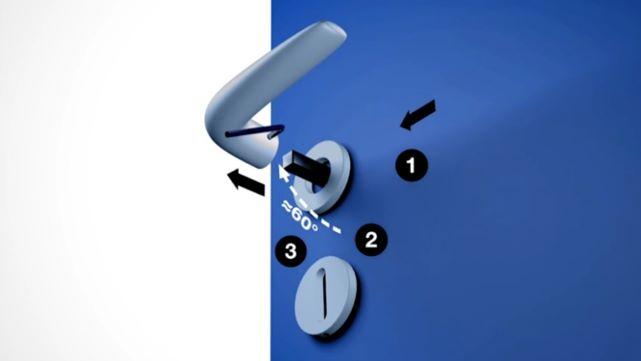 Puxador - Montagem/desmontagem