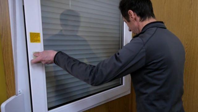 Possibilidades de colocação na janela