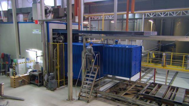 Produção de contentores-armazém - de acordo com os padrões técnicos mais atuais