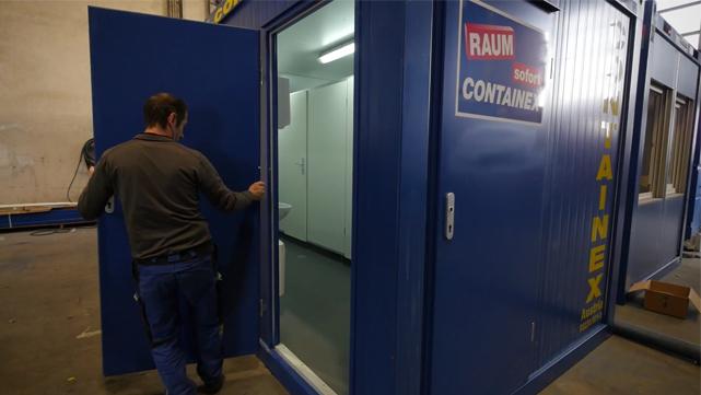 Porta exterior em aço - Desmontagem/montagem/colocação