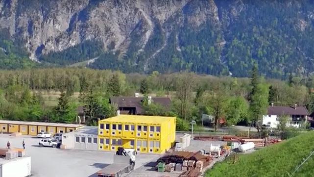 Construção de um túnel na Baviera