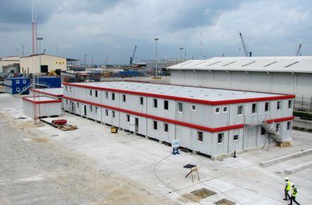 Complexo de escritórios para terminal de contentores, Lagos, Nigéria