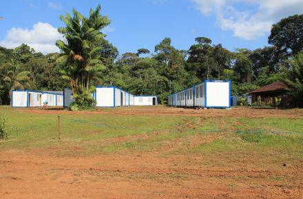 Alojamento para equipa de produção cinematográfica, Cayenne, Guiana Francesa