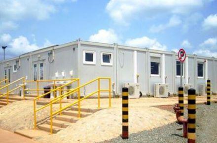 Complexo de contentores-escritório Newmont, Ghana