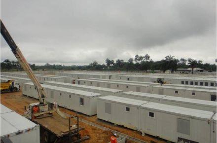 CONTAINEX - Mitarbeiterunterkunft-Total-Camp-Nigeria