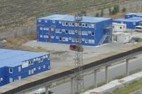 Instalações de contentores-escritório de obra para refinaria, Burgas, Bulgária