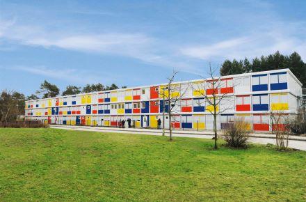 Alojamento para refugiados requerentes de asilo em Berlim