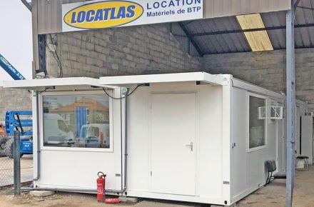 """Escritório móvel """"Localtas"""", FR-Saint Emilion"""