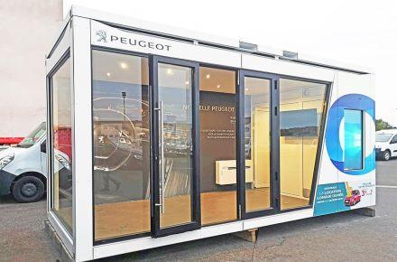 Salão de exposições Peugeot, Clermont-Ferrand, França
