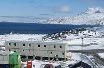 CONTAINEX - Escritório de obra da Universidade, GL-Nuuk