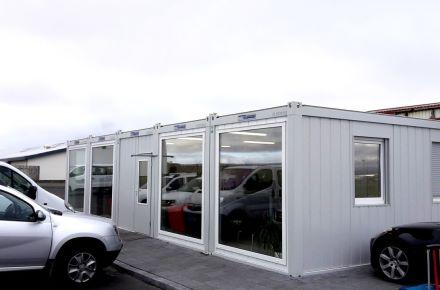 Escritório de vendas para uma loja de aluguer de autmóveis, em Keflavik, Islândia
