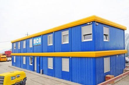 """Instalação de contentores-escritório para a """"MCA Group"""", Atyrau, Cazaquistão"""