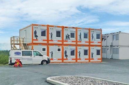 """Escritório de projetos de obra """"MyLift"""", em Hamar, Noruega"""