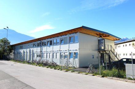 Alojamentopara refugiadosrequerentes de asilo, Innsbruck/Rossau, Áustria
