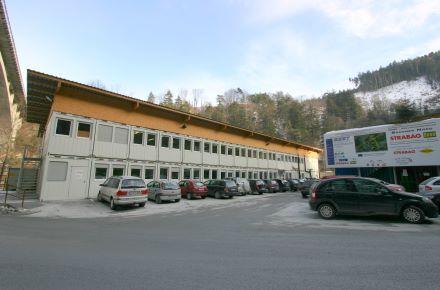 CONTAINEX - BM-Anlage Baubüro Brenner Basistunnel