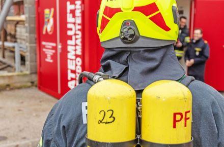 "Contentor técnico para os ""Bombeiros Voluntários de Mautern"", Mautern, Áustria"