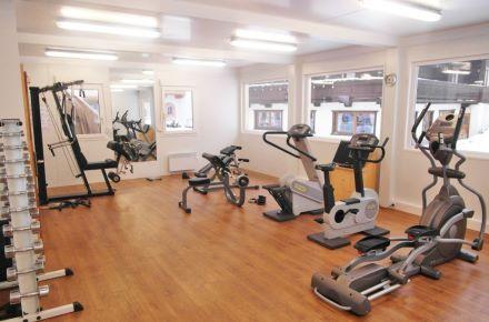 Estúdio de fitness, Gerlos, Áustria