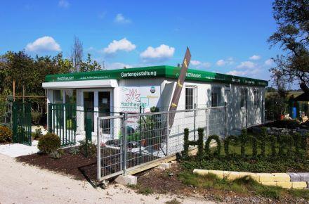 "Loja de vendas ""Gärtnerei Hochhauser"", Krenglbach, Áustria"