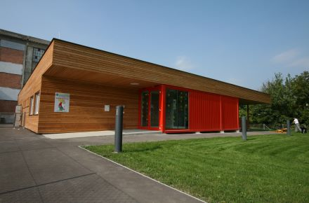 CONTAINEX - Kindergarten Thermenklinikum Mödling