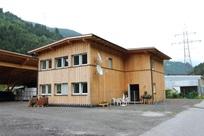 Alojamento para colaboradores da Abler Holzschlägerung, Landeck, Áustria