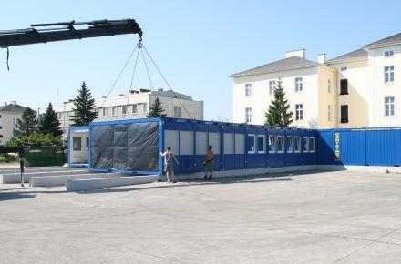Edifício escolar temporário, Wiener Neustadt, Áustria