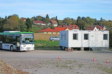 Espaços sociais e de pessoal para os condutores de autocarros, Neulengbach, Áustria