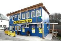 Conjunto modularde contentores de aluguer para o Raiffeisen Bank, Salzburgo, Áustria