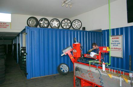 CONTAINEX - Armazém de pneus, A-Leonding