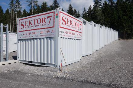 Contentor Self-Storage, Wiesing, Áustria