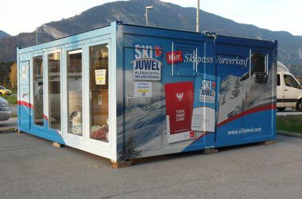 Loja de venda de forfaits de ski em aprox. 30 m2, em Brixlegg, Áustria