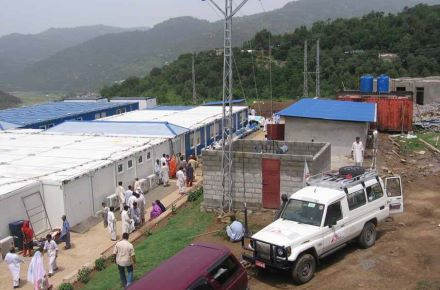 CONTAINEX - Médicos sem fronteiras, Paquistão