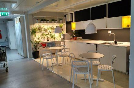 Sala de formação para o IKEA em Kazan, Rússia