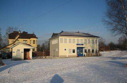 Cafeteria com revestimento, São Petersburgo, Rússia