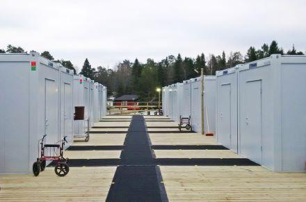Alojamento alternativo para um lar de idosos emGustavsberg, Suécia