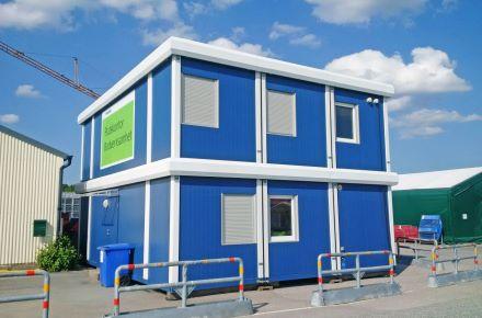 Complexo de escritórios de 2 pisos com cornija, Estocolmo, Suécia