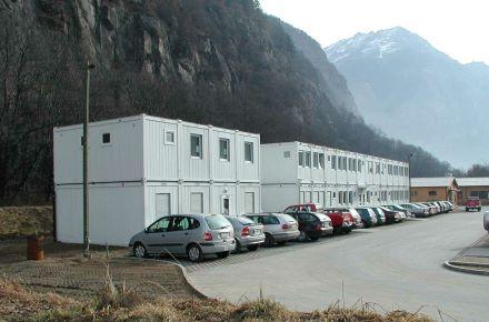 CONTAINEX - Gotthardtunnel, Suíça