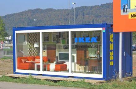 CONTAINEX - Contentor como Showroom, CH-Spreitenbach